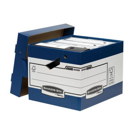 Image for Bankers Box by Fellowes Ergo Stor Heavy Duty FastFold Ref 38801 [Pack 10]