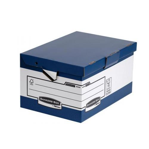 Image for Bankers Box by Fellowes Ergo Stor Maxi FastFold Ref 48901 [Pack 10]