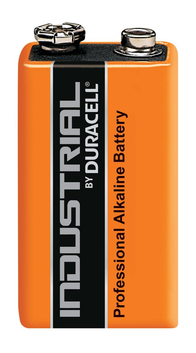 Image for Duracell Industrial Battery Alkaline 9V Ref 81451922 [Pack 10]