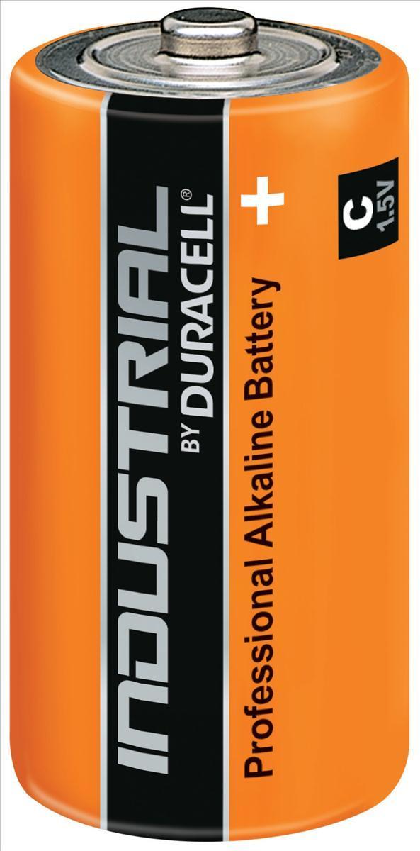 Image for Duracell Industrial Battery Alkaline 1.5V C Ref 81451925 [Pack 10]