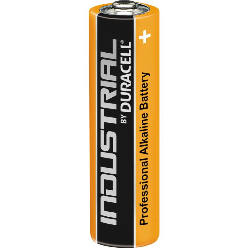Image for Duracell Industrial Battery Alkaline 1.5V AA Ref 5000832 [Pack 10]