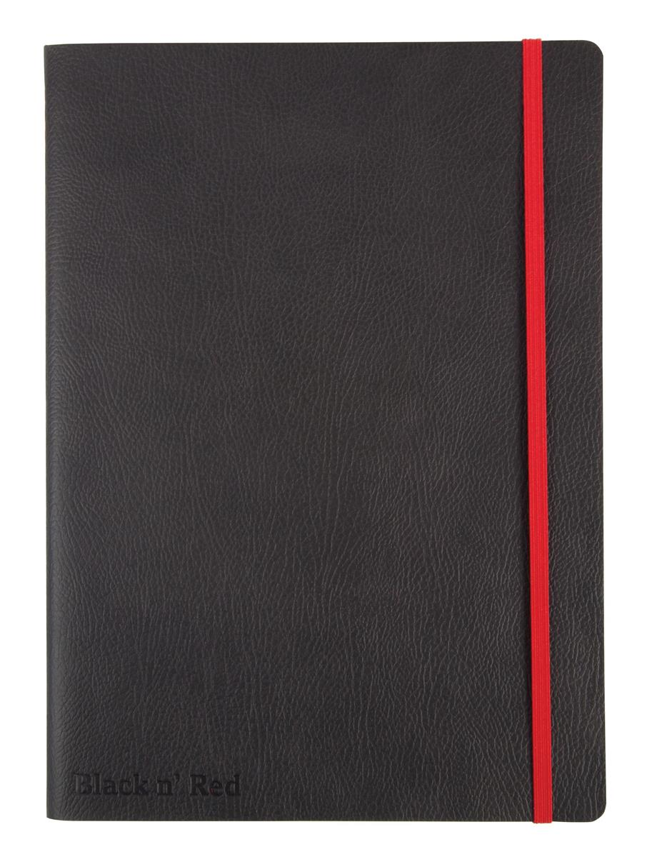 Image for Black By Black n Red Business Journal Book Soft Cover 90gsm Numbered Pages B5 Ref 400051204