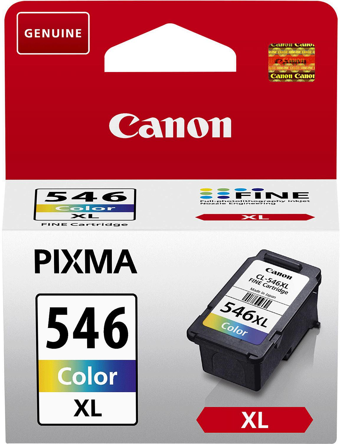 Canon CLI-546 XL Inkjet Cartridge High Yield Page Life 400pp 13ml Tri-Colour Ref 8288B001