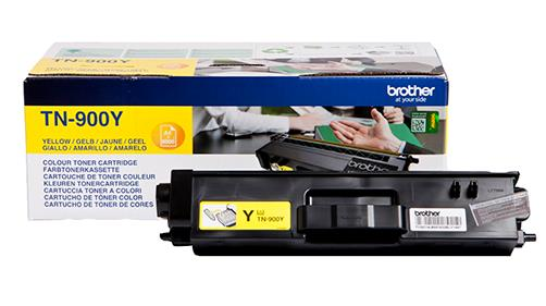 Brother Laser Toner Cartridge Page Life 6000pp Yellow Ref TN900Y