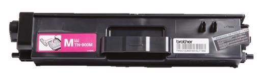 Brother Laser Toner Cartridge Page Life 6000pp Magenta Ref TN900M