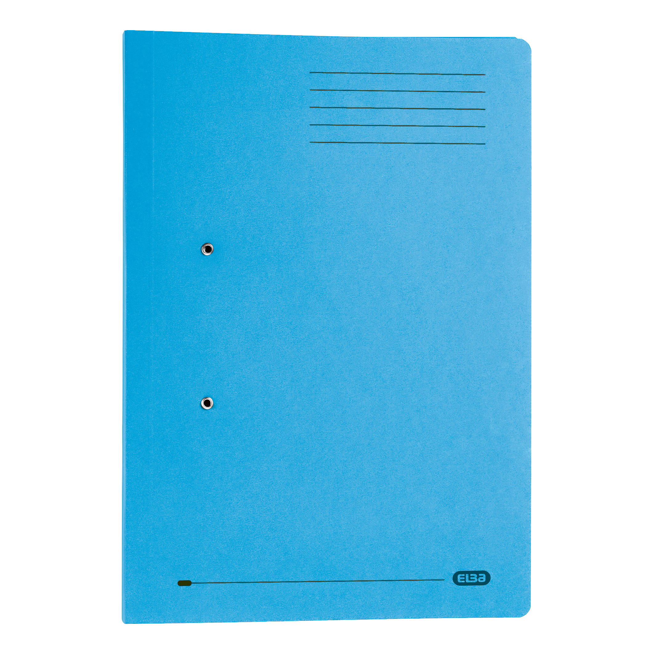 Elba Strongline Transfer Spring File Recycled Pocket 320gsm 36mm Foolscap Blue Ref 100090146 Pack 25