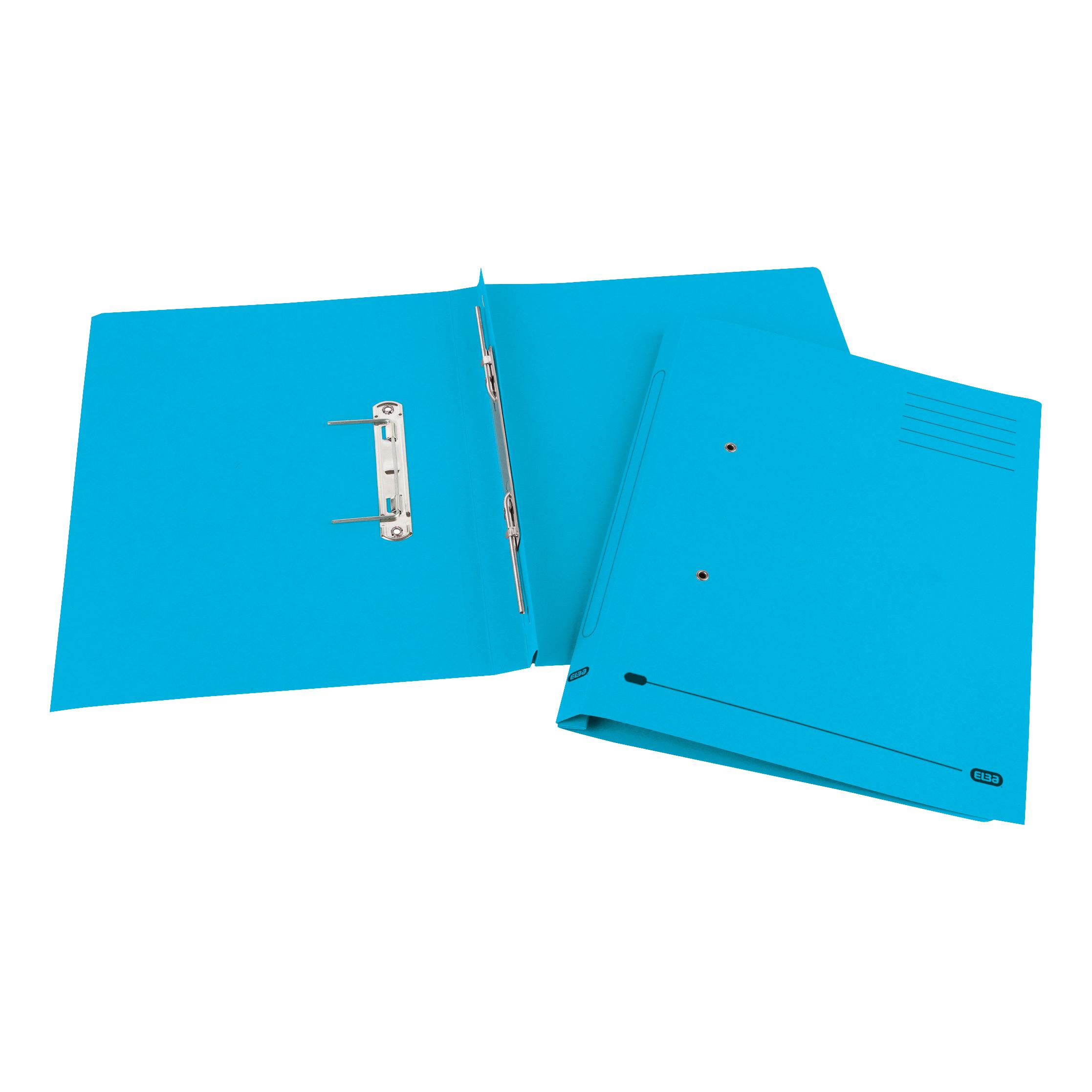 Elba StrongLine Spiral Transfer Spring File 320gsm Foolscap Blue Ref 100090035 Pack 25 REDEMPTION