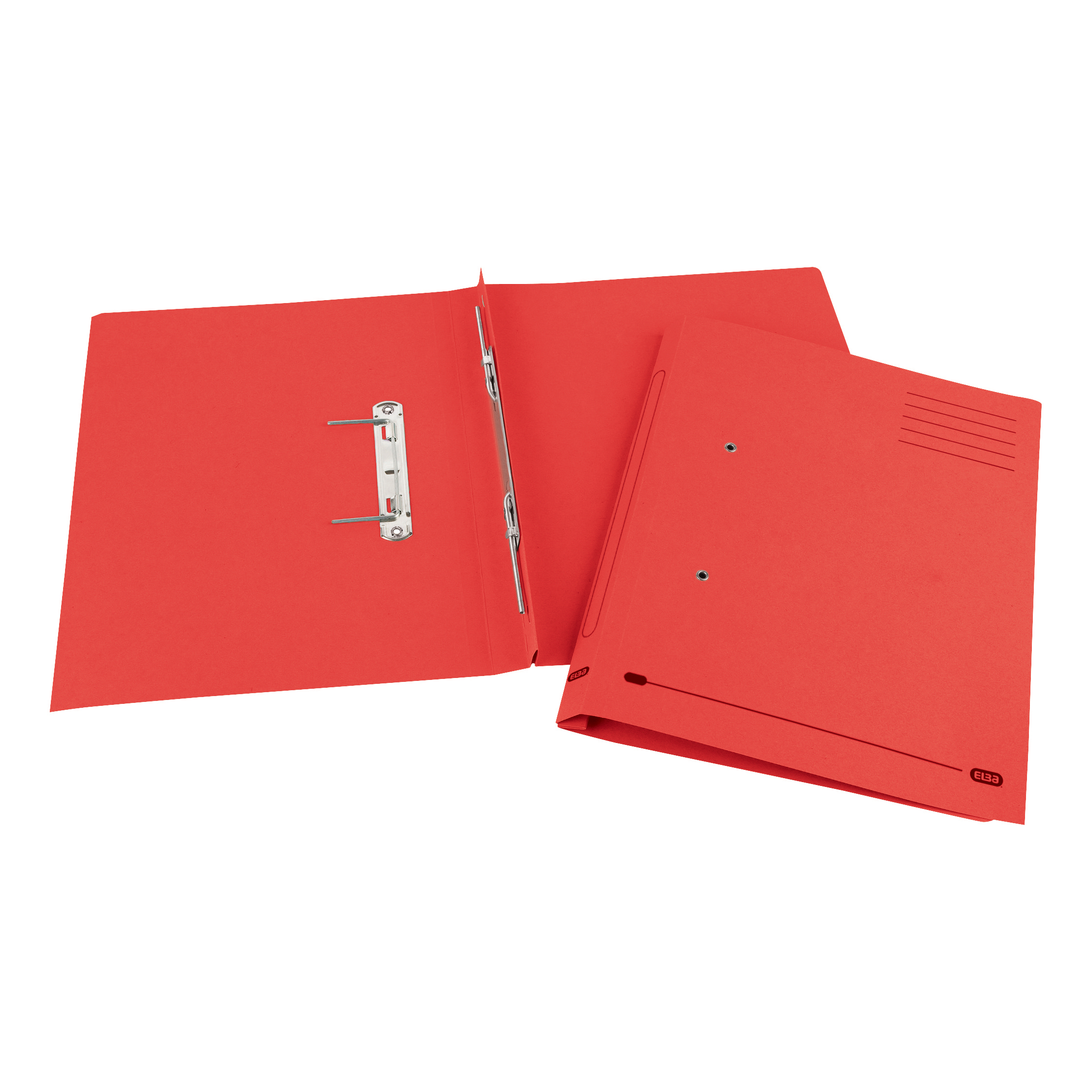 Elba StrongLine Spiral Transfer Spring File 320gsm Foolscap Red Ref 100090038 Pack 25