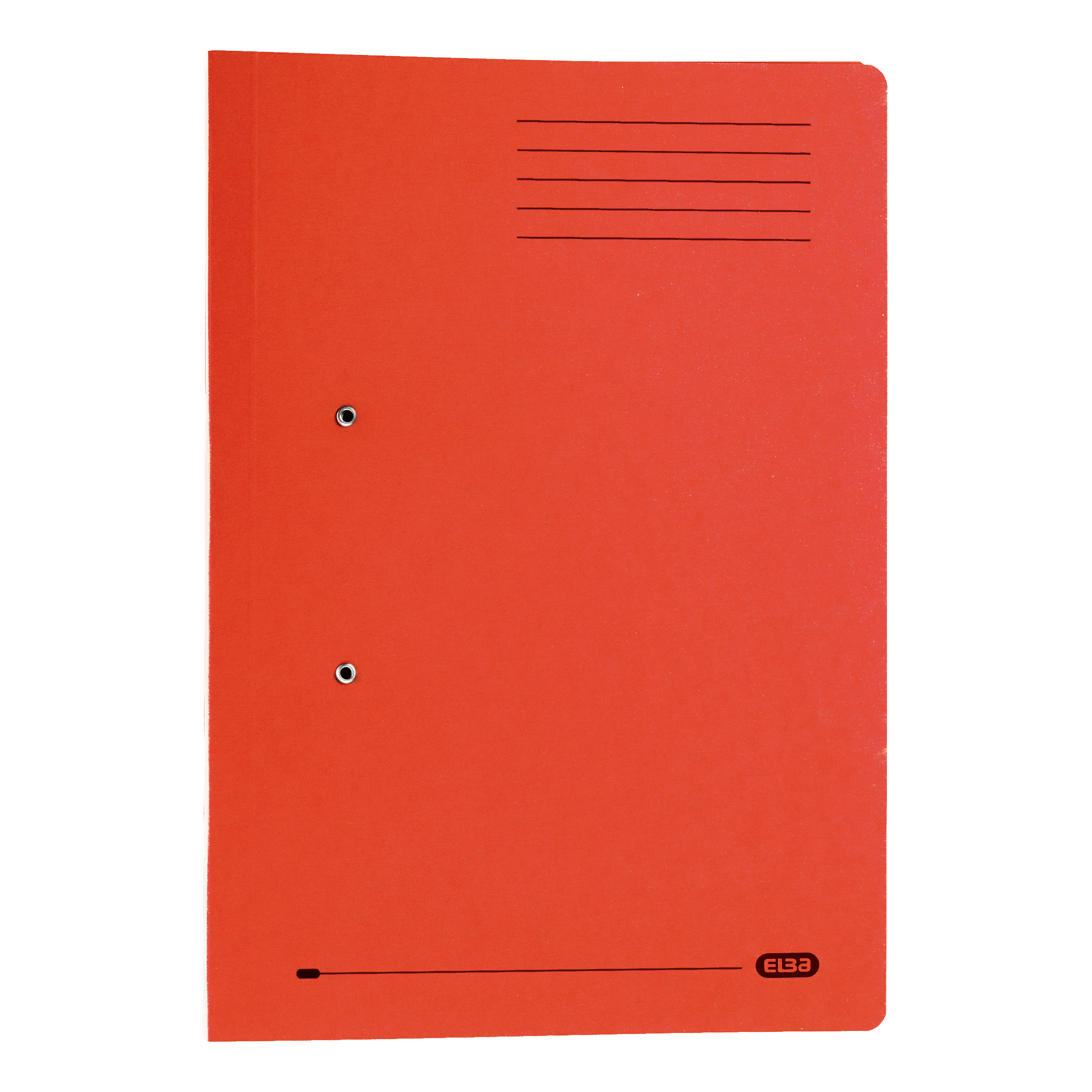Elba StrongLine Transfer Spring File Recycled 320gsm Foolscap Red Ref 100090278 Pack 25 REDEMPTION