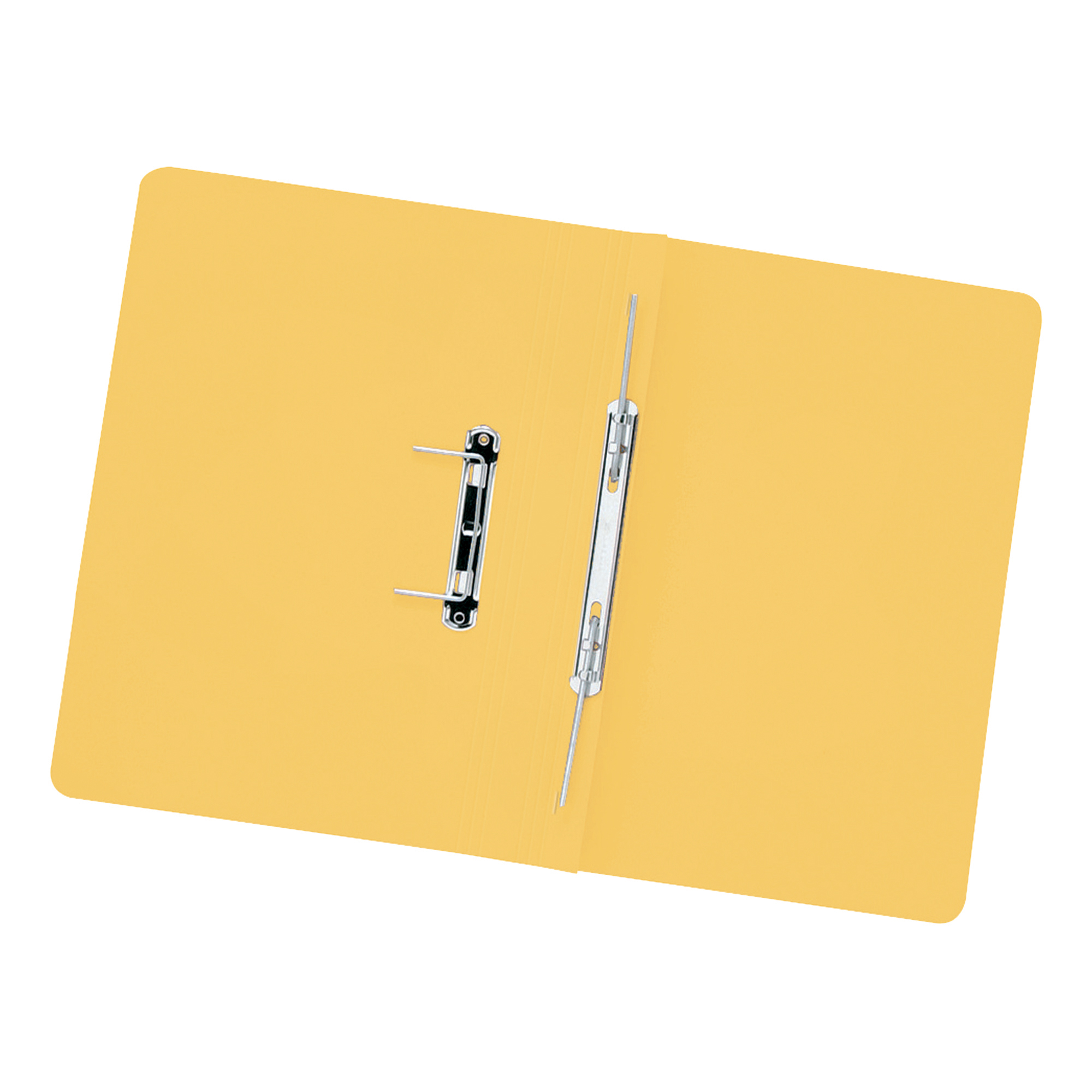 5 Star Elite Transfer Spring File Heavyweight 315gsm Capacity 38mm Foolscap Yellow [Pack 50]