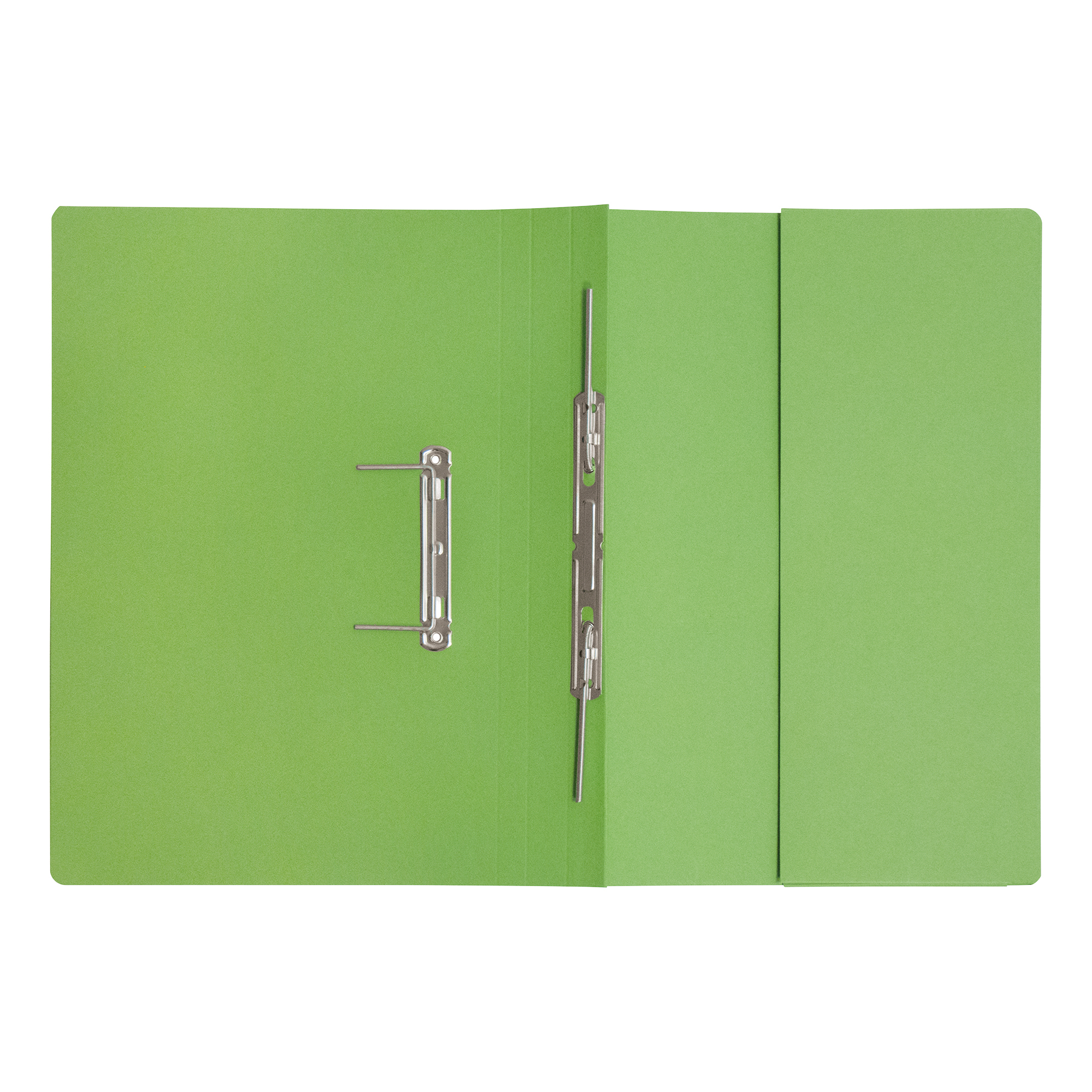 5 Star Elite Transfer Spring Pocket File Heavyweight 315gsm Foolscap Green [Pack 25]