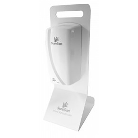 Institutional soap or lotion dispensers Desktop Stand For Touch Free Dispenser (Not Included) White,Fits Code DIS13603