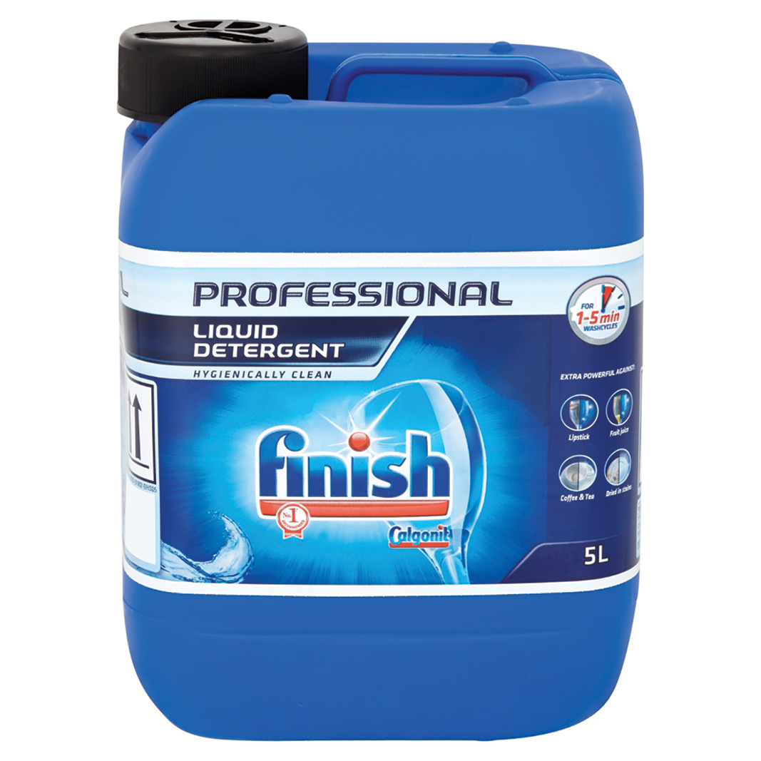 Dishwashing products Finish Professional Liquid Detergent 5 Litre Ref RB535561