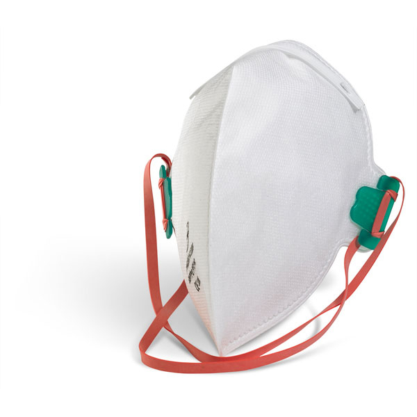 B-Brand P2 Fold-flat Mask Latex-free White Ref BBFFP2 [Pack 20] Up to 3 Day Leadtime