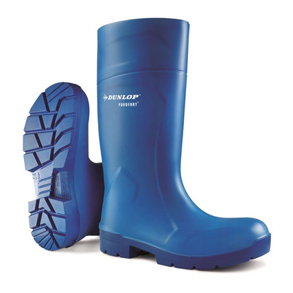 Footwear Dunlop Purofort Multigrip Safety Wellington Boots Size 12 Blue Ref CA6163112 *Up to 3 Day Leadtime*