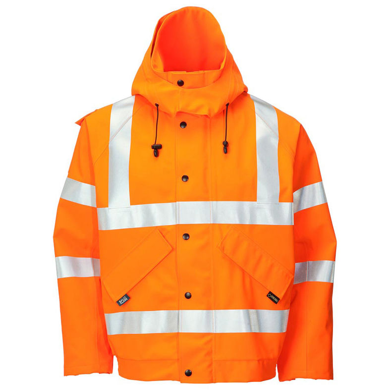 B-Seen Gore-Tex Bomber Jacket for Foul Weather 2XL Orange Ref GTHV153ORXXL *Up to 3 Day Leadtime*