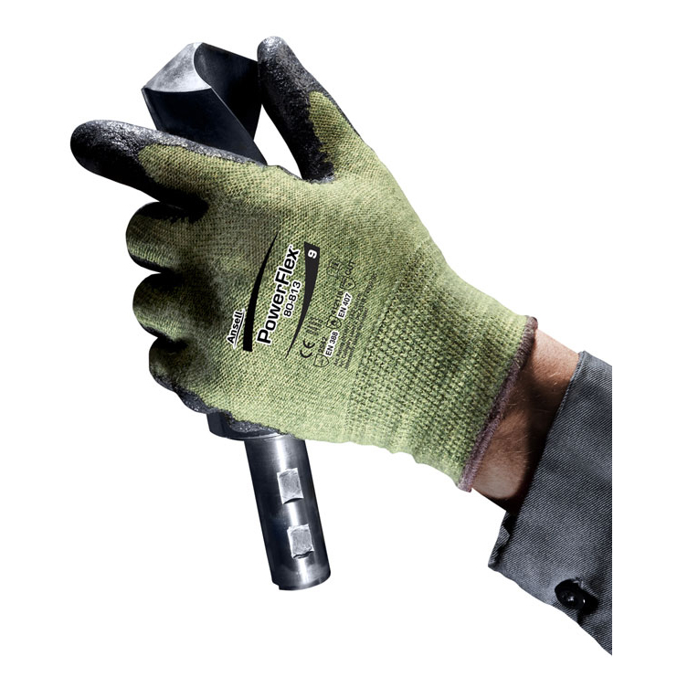 Hand Protection Powerflex 80-813 Gloves 09 Ref AN80-813L *Up to 3 Day Leadtime*