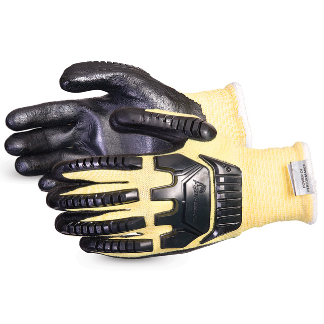 Hand Protection Superior Glove Dexterity Impact & Cut-Resist Kevlar L Black Ref SUSKFGFNVBL *Up to 3 Day Leadtime*