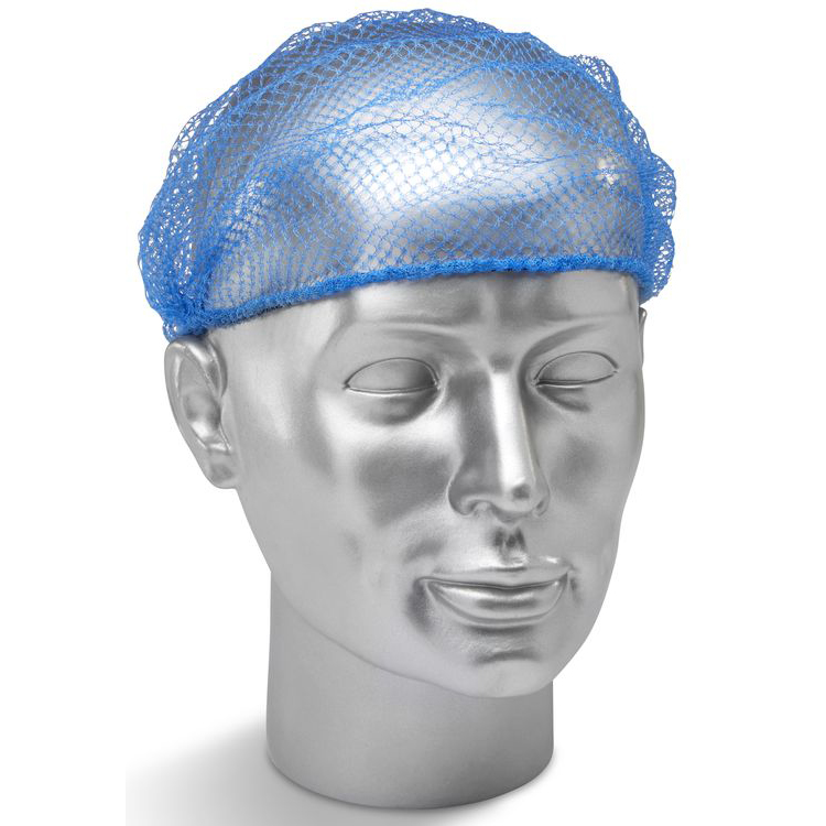 Protective hair net Click Once Disposable Hairnet Blue Ref DHB Pack 144 *Up to 3 Day Leadtime*