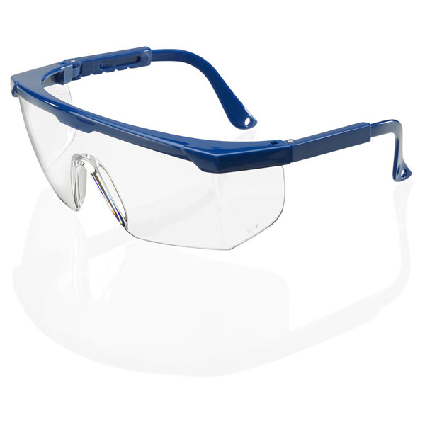B-Brand Portland Safety Spectacles Clear Ref BBPS [Pack 10] *Up to 3 Day Leadtime*