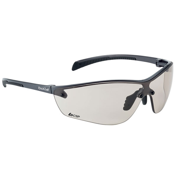 Bolle Siliumplus Platinum Csp Safety Glasses Ref BOSILPCSPPLUS [Pack 10] Up to 3 Day Leadtime