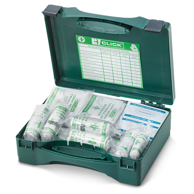 Click Medical 1-10 First Aid Kit HSA Irish Ref CM0013 *Up to 3 Day Leadtime*