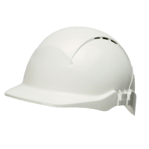 Head Protection Centurion Concept R/Peak Vented Safety Helmet White Ref CNS08WF *Up to 3 Day Leadtime*