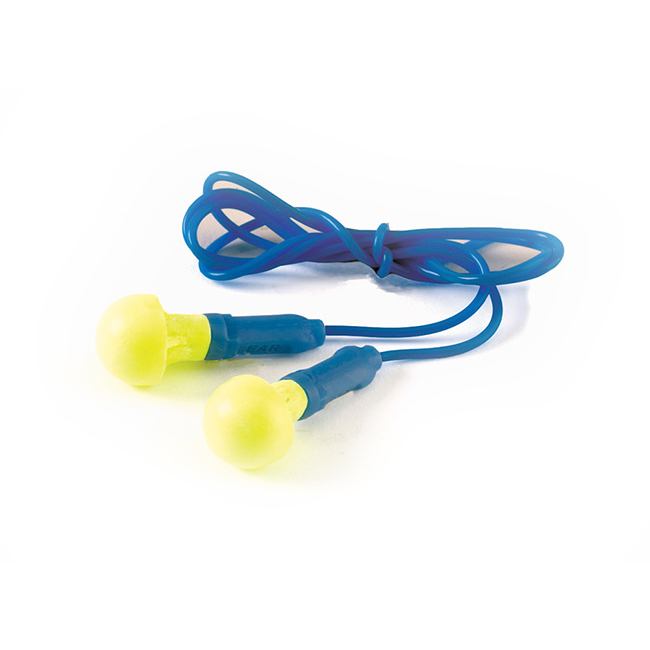 Ear Protection Ear Push In Ear Plugs Corded Ref EARPICORD Pack 100 *Up to 3 Day Leadtime*