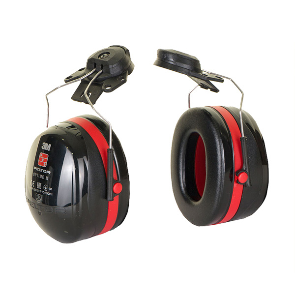 Peltor Optime 3 Helmet Mounted Ear Defenders 35dB Ref H540P3E-413-SV *Up to 3 Day Leadtime*