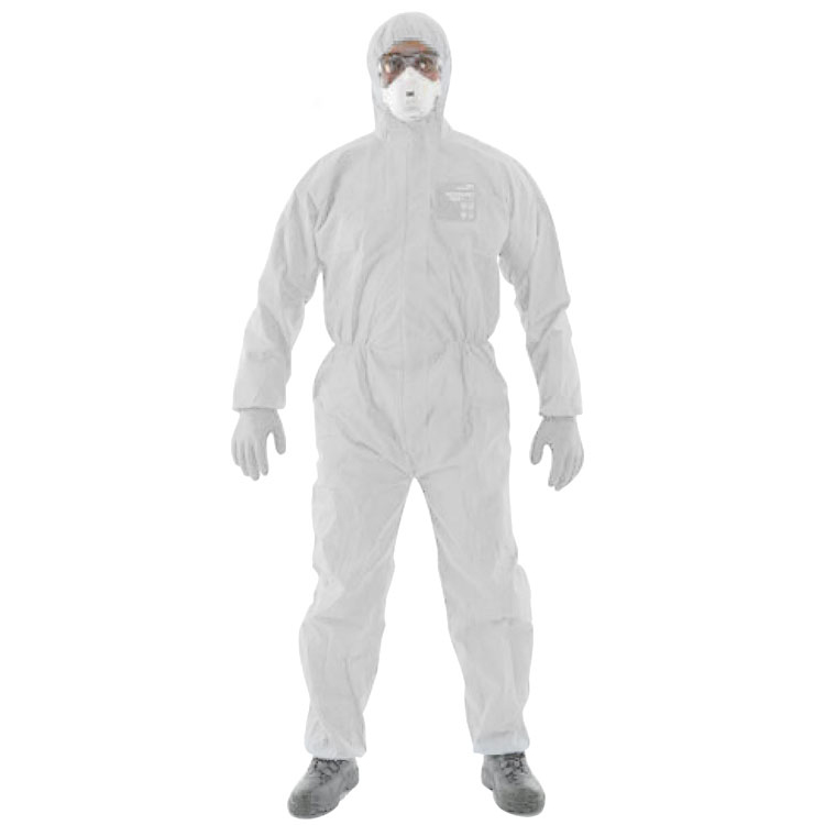 Microgard 1500 Plus Overall White L Ref ANWH15111L *Up to 3 Day Leadtime*