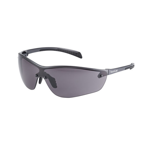 Bolle Siliumplus Platinum Smoke Safety Glasses Ref BOSILPPSFPLUS [Pack 10] *Up to 3 Day Leadtime*