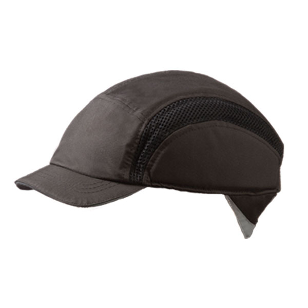 Head Protection Centurion Airpro Baseball Bump Cap Reduced Peak Black Ref CNS38BLRP *Up to 3 Day Leadtime*