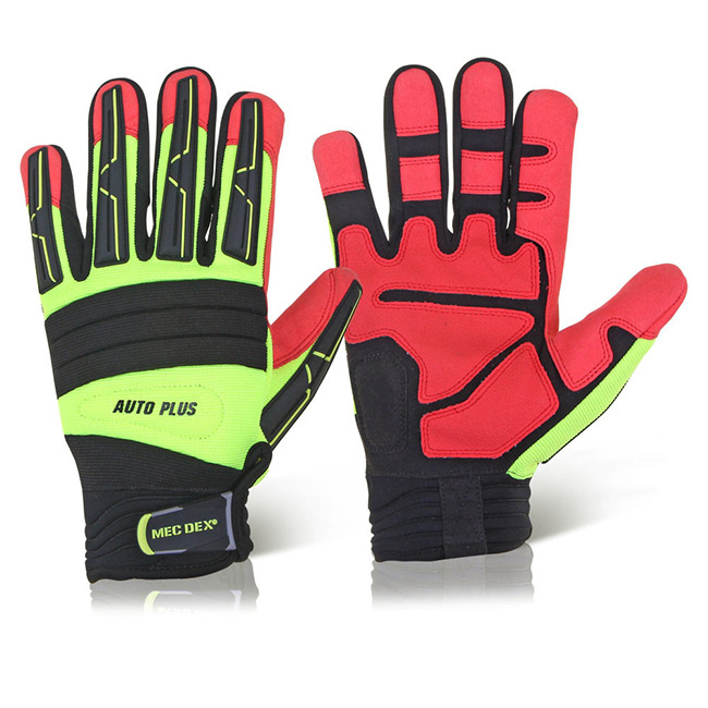 Limitless Mecdex Auto Plus Mechanics Glove L Ref MECAP-622L *Up to 3 Day Leadtime*