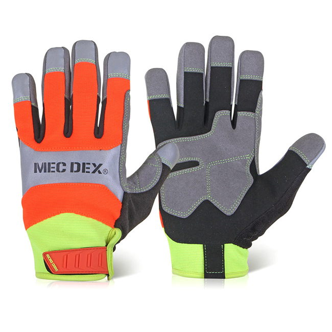 Limitless Mecdex Functional Plus Impact Mechanics Glove M Ref MECFS-713M *Up to 3 Day Leadtime*