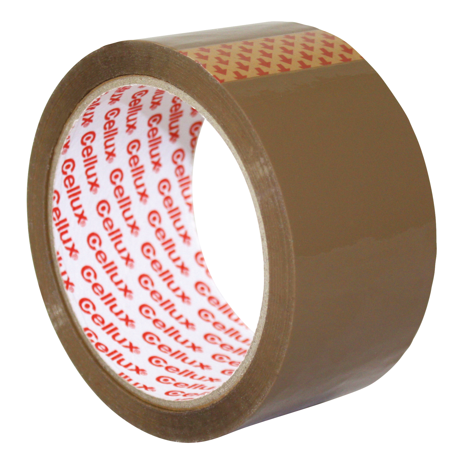 Sellotape Cellux Tape Economy General Purpose 48mmx50m Buff Ref 0550 Pack 6