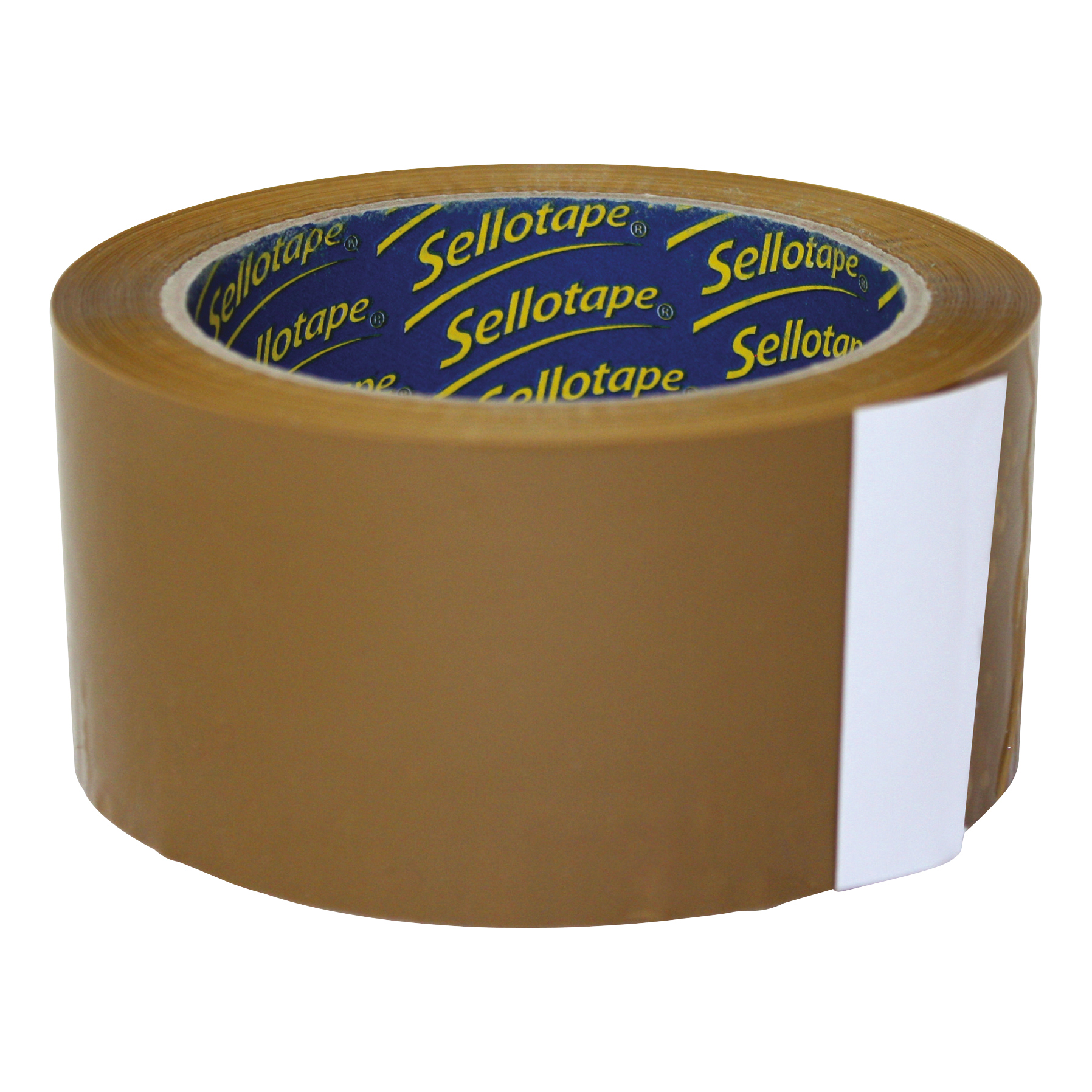 Sellotape Case Sealing Tape Vinyl 50mm x 66m Buff Ref 0246 Pack 6