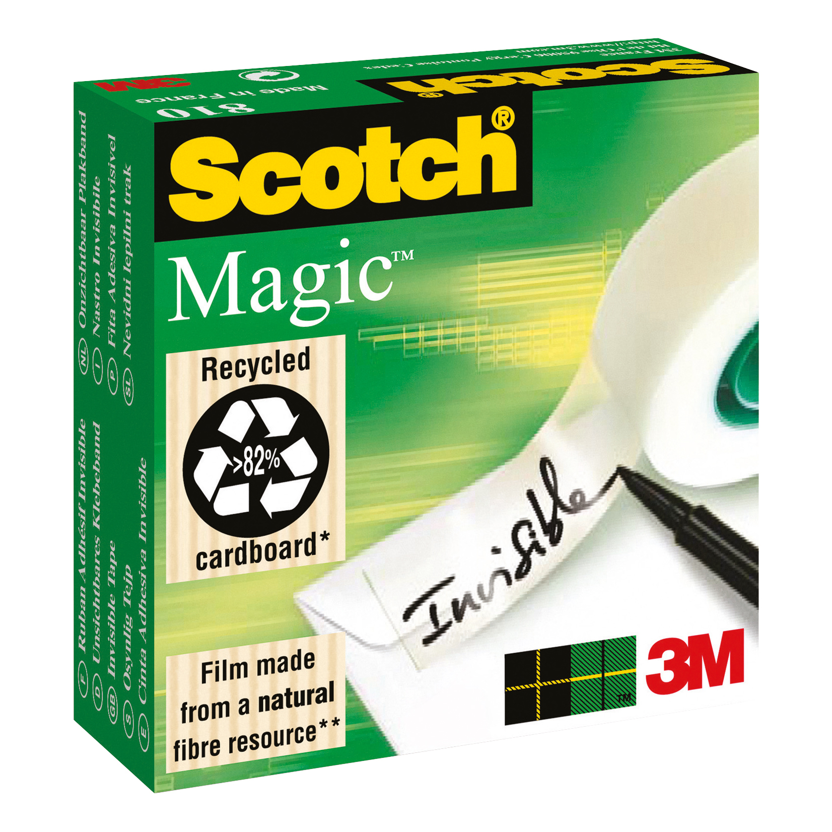 Scotch Magic Tape 25mmx66m Matt Ref 8102566