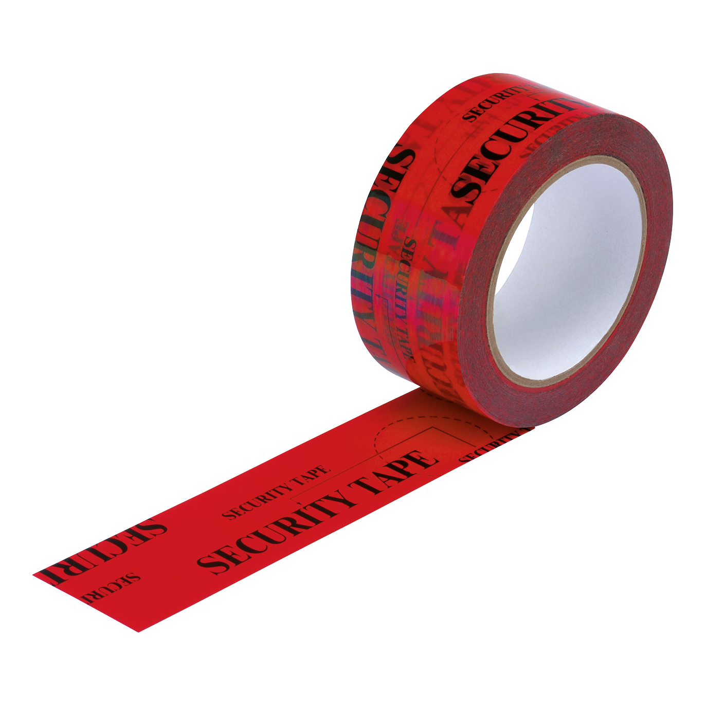 Barrier tapes or chains Security Tape Tamper Evident 48mmx50m Red
