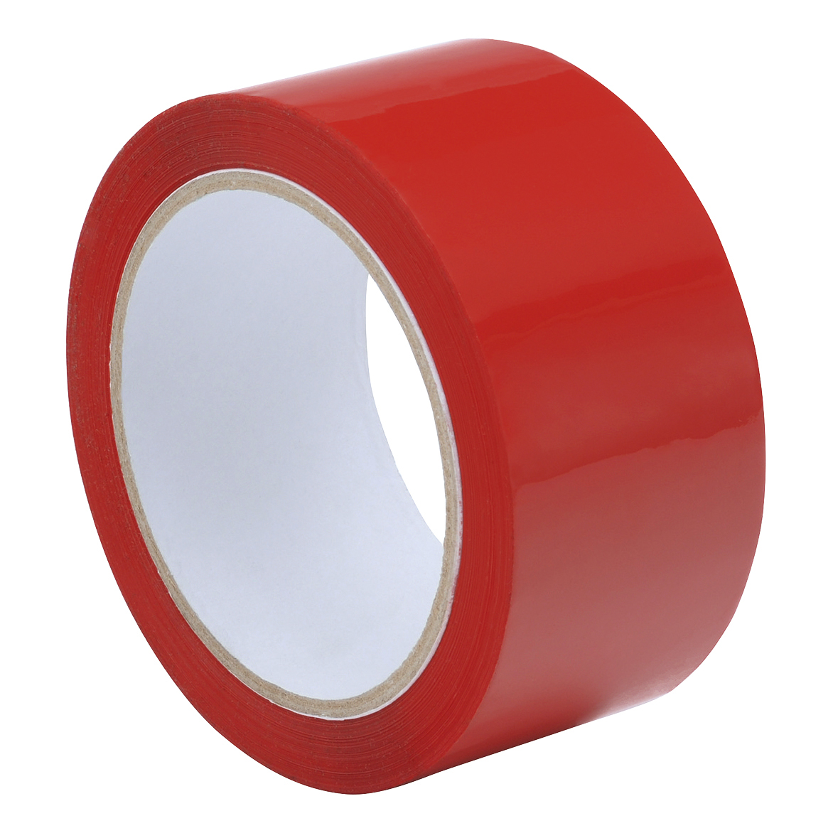 Tape Polypropylene 48mmx66m Red Pack 6
