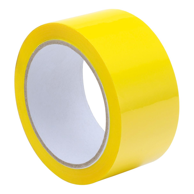 Tape Polypropylene 48mmx66m Yellow Pack 6