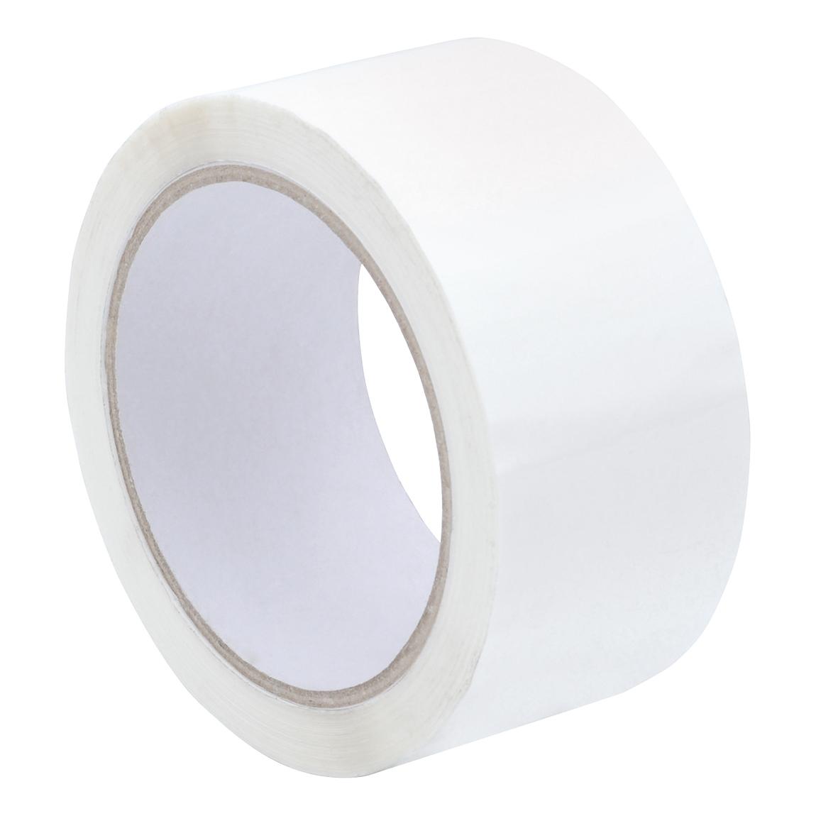 Tape Polypropylene 48mmx66m White Pack 6