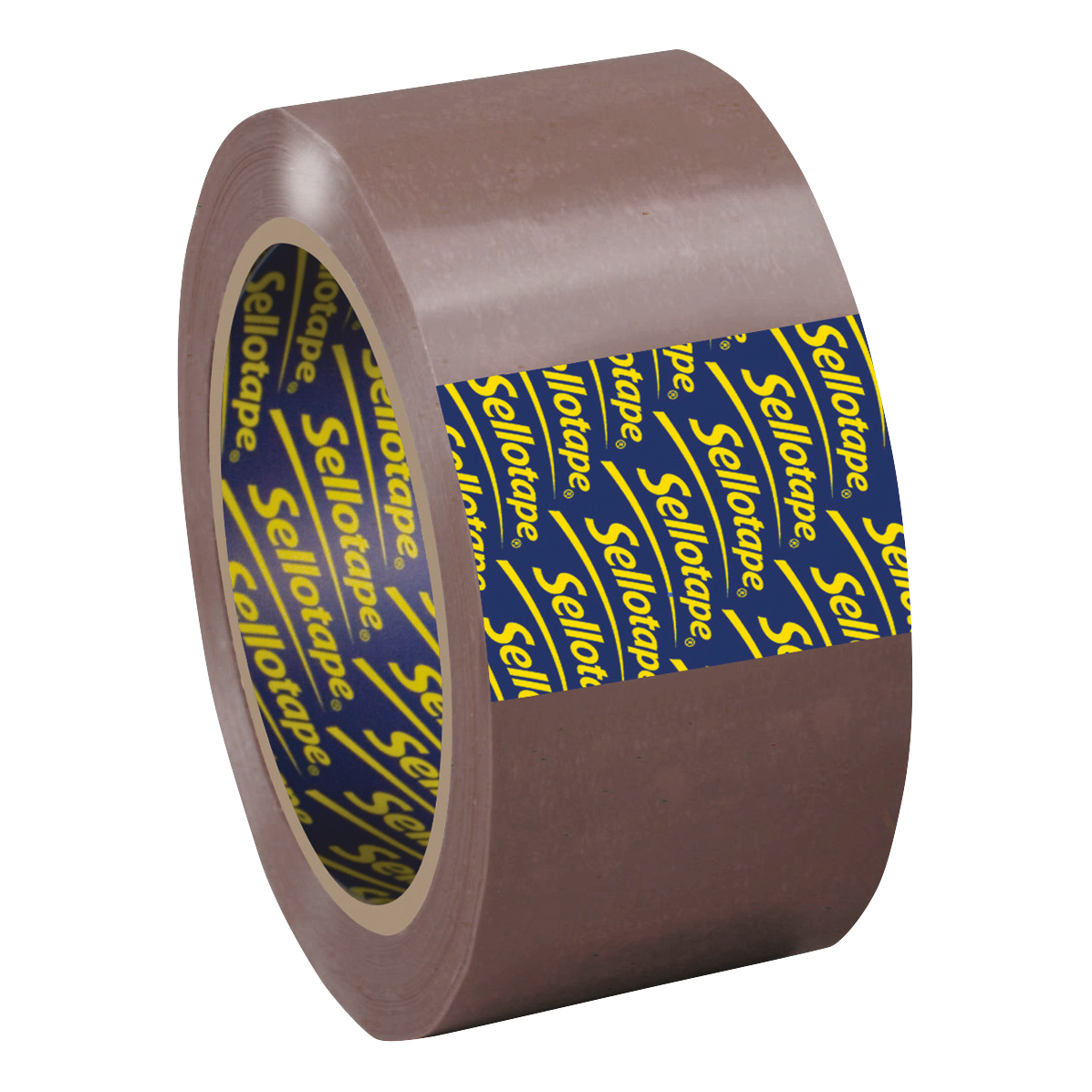 Sellotape Superseal Case Sealing Tape Polypropylene 50mmx66m Buff Ref 1445172 Pack 6