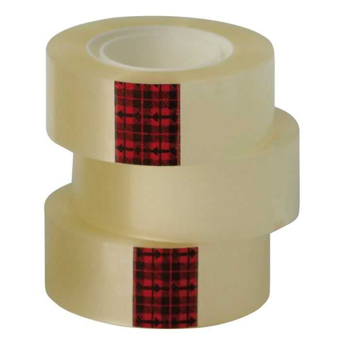 Scotch Easy Tear Transparent Tape 25mmx66m Ref ET2566T6 [Pack 6]