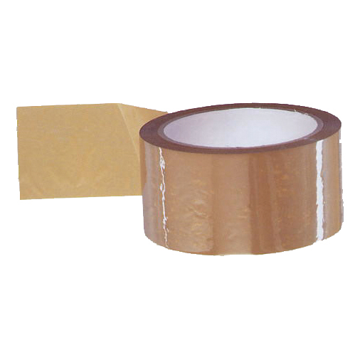 5 Star Value Packaging Tape 48mmx66m Buff Pack 6