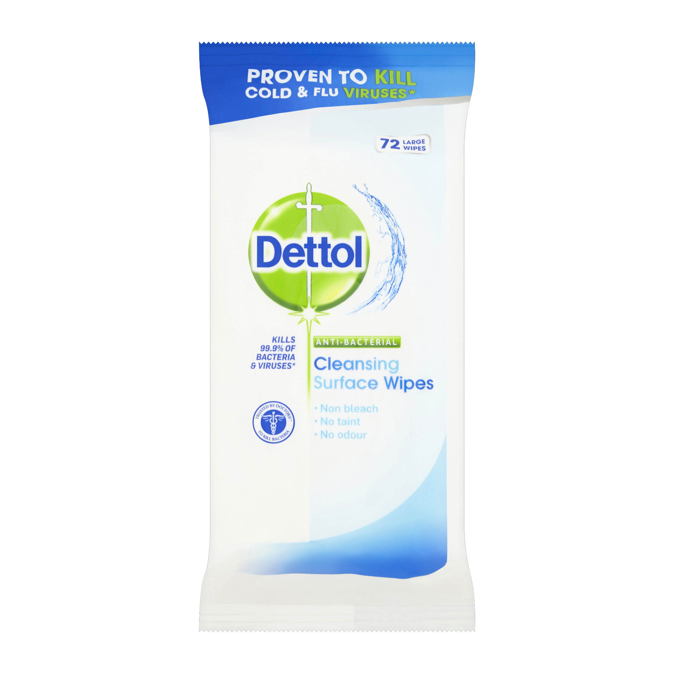 Disinfectant Wipes Dettol Antibacterial Surface Cleaning Wipes Ref RB789643 72 Wipes