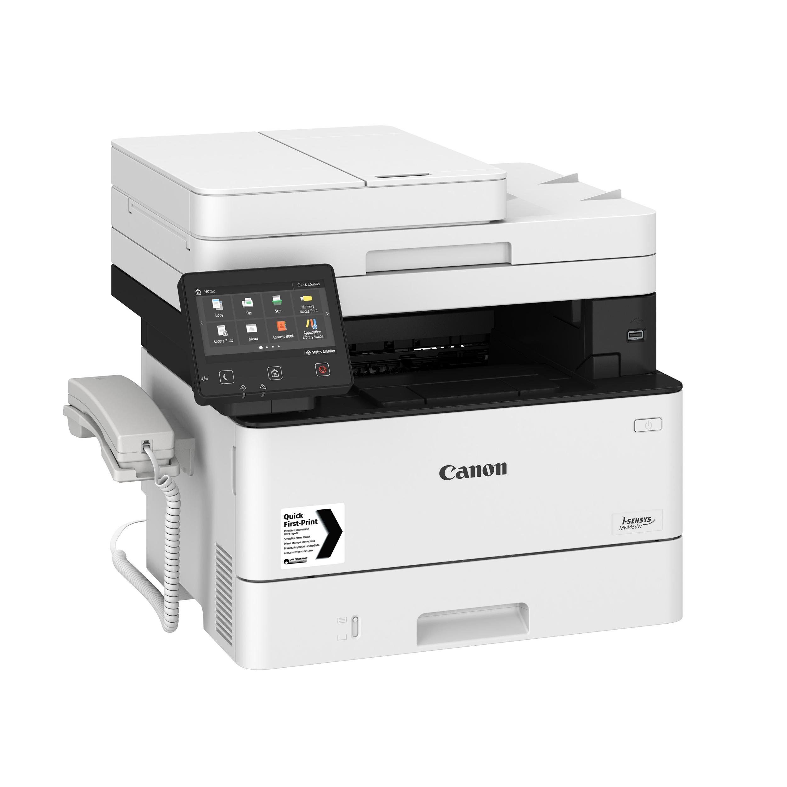 Laser printers Canon i-SENSYS MF445dw Multifunction Mono Laser A4 Printer Ref 3514C020AA