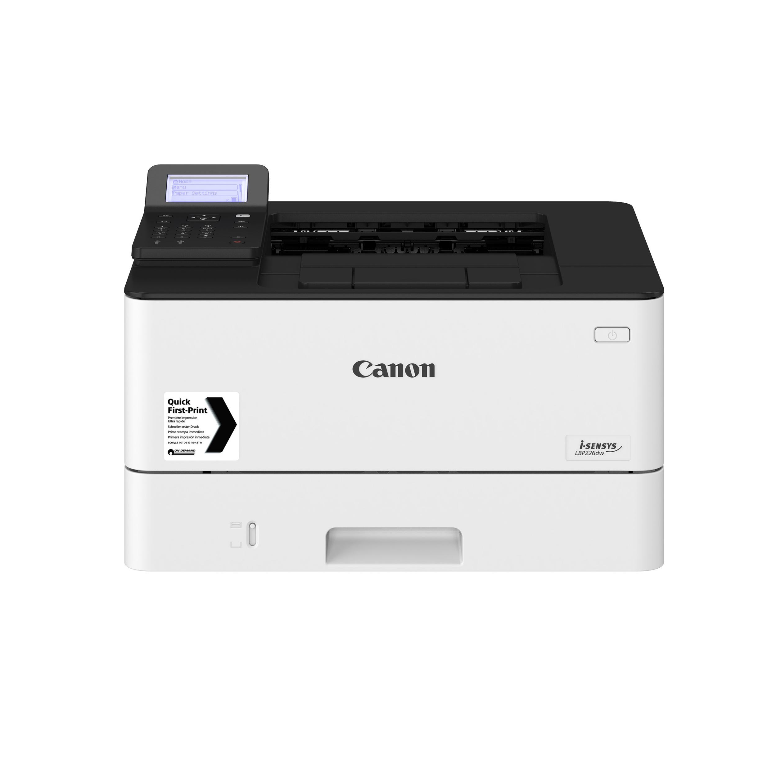 Canon i-SENSYS LBP226dw Mono Laser A4 Printer Ref 3516C019AA
