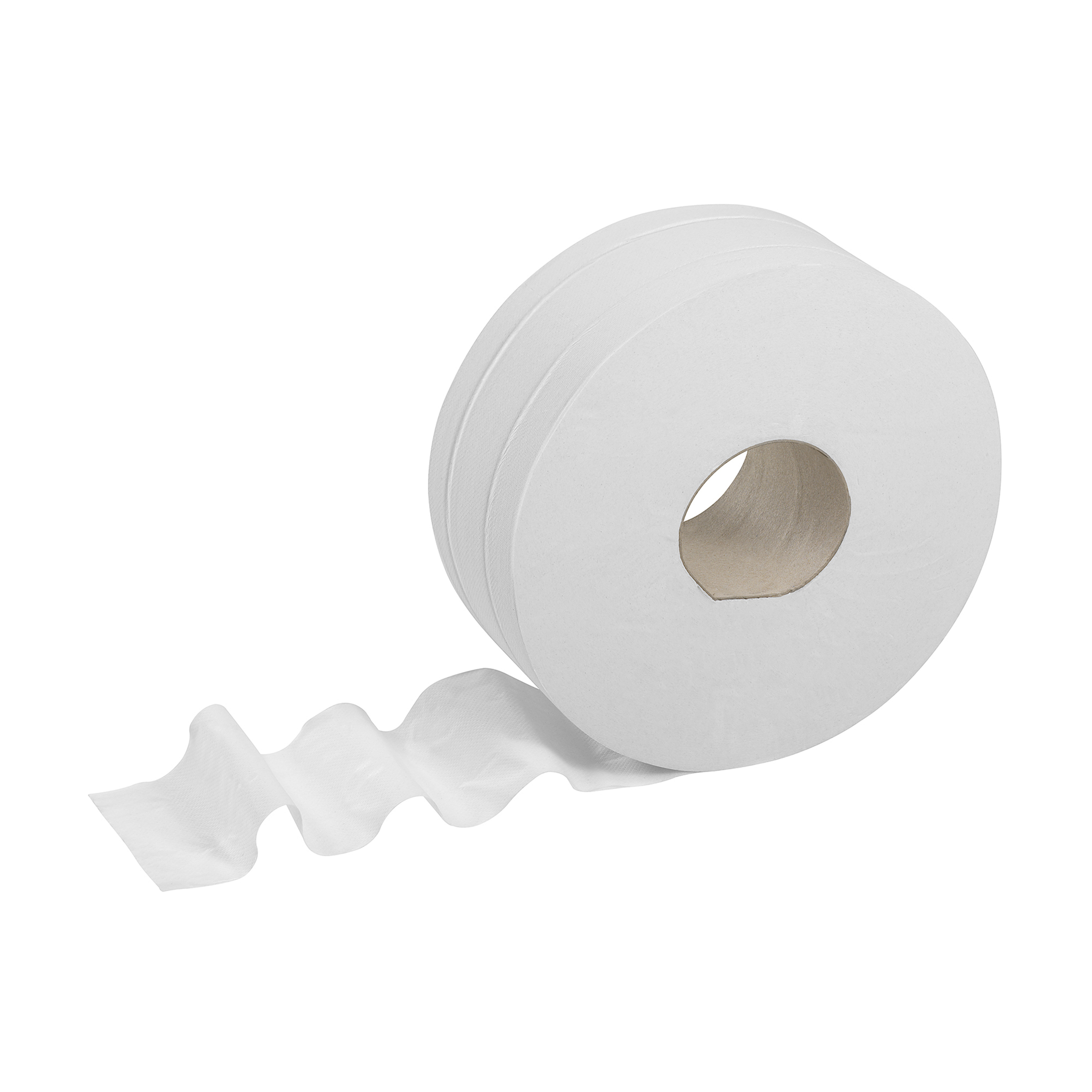 Toilet Tissue & Dispensers Kleenex Midi Jumbo Toilet Rolls 500 Sheet per roll 2-ply 380x90mm White Ref 8570 Pack 6