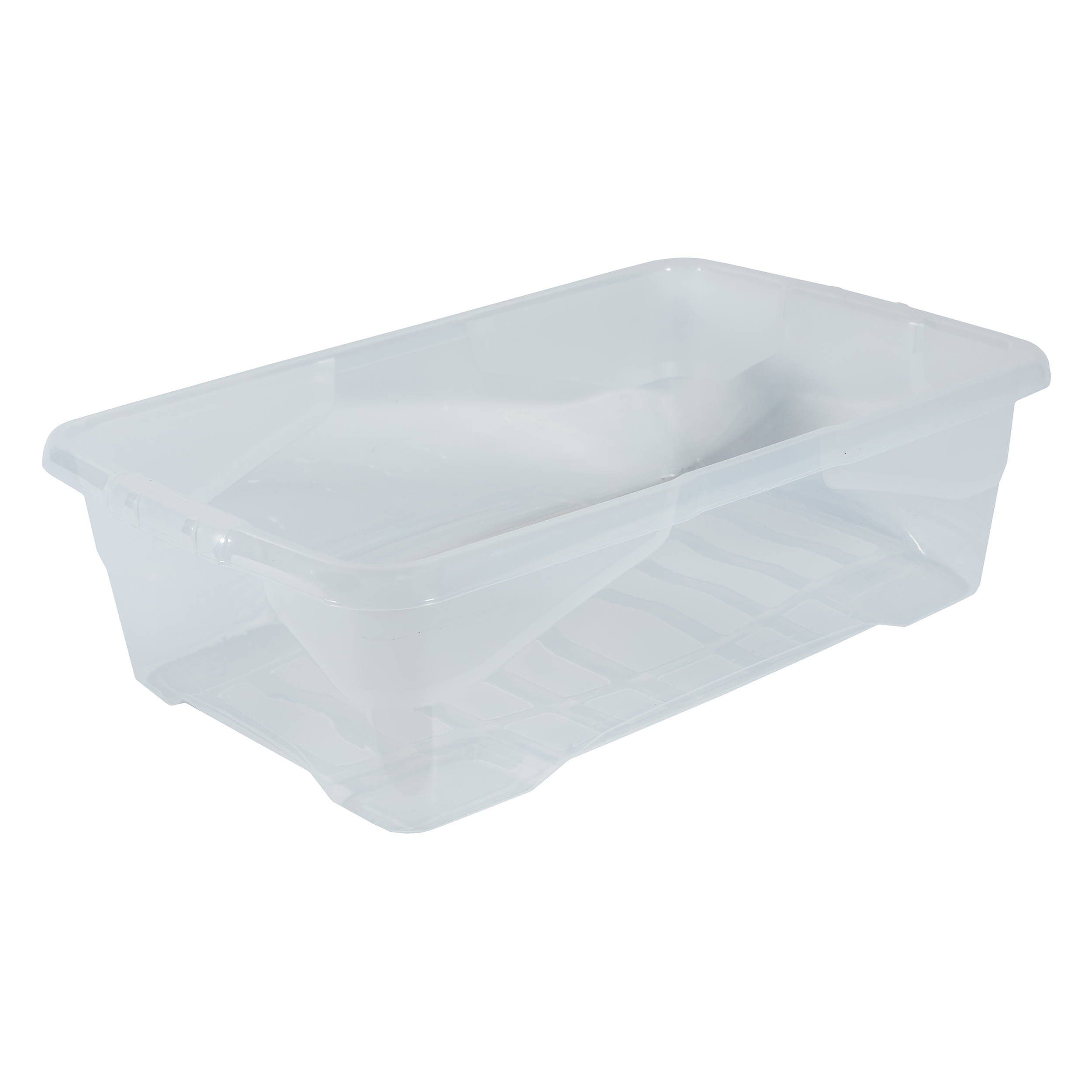 File storage boxes or organizers Strata Curve Box 30 Litre Clear Ref XW201B-CLR