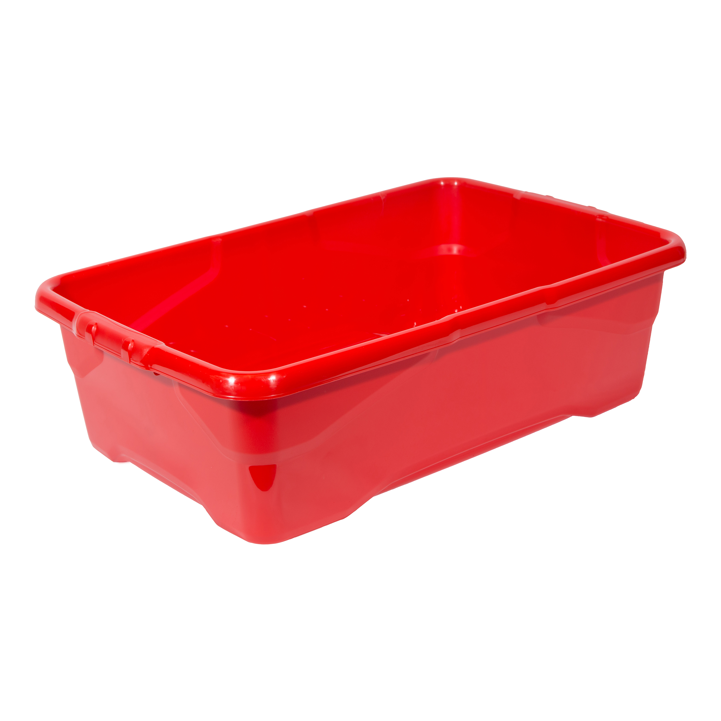 File storage boxes or organizers Strata Curve Box 30 Litre Red Ref XW201B-RED